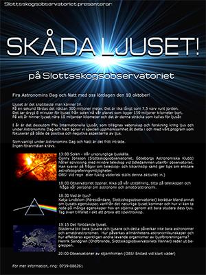 Bild: Slottsskogsobservatoriet