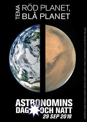 Bilder: Jorden: NASA Visible Earth; Mars: ISRO / ISSDC / Emily Lakdawalla (CC BY-NC-SA 3.0)