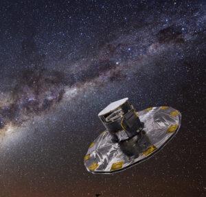 Bild: ESA/ATG medialab; background: ESO/S. Brunier