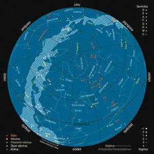 Karta: © Per Ahlin/Populär Astronomi