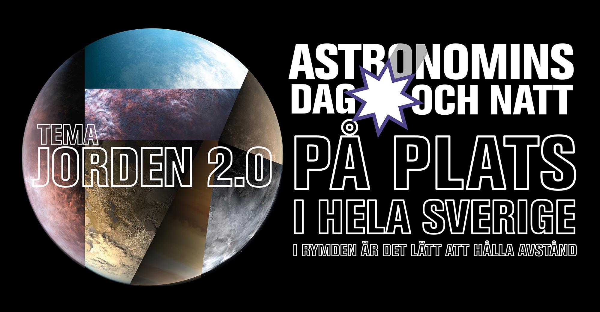 Astronomins dag och natt på plats